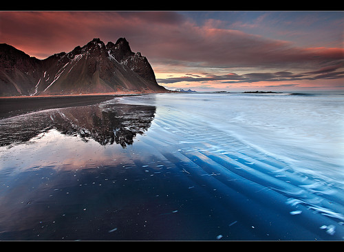 Rippled Reflection - Vestrahorn, Iceland