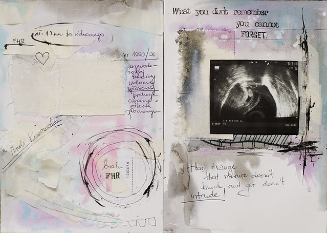 art journal :: I don't agree that it's our destiny