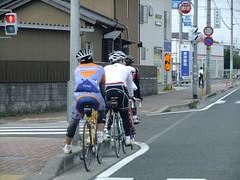 自転車の皆さん