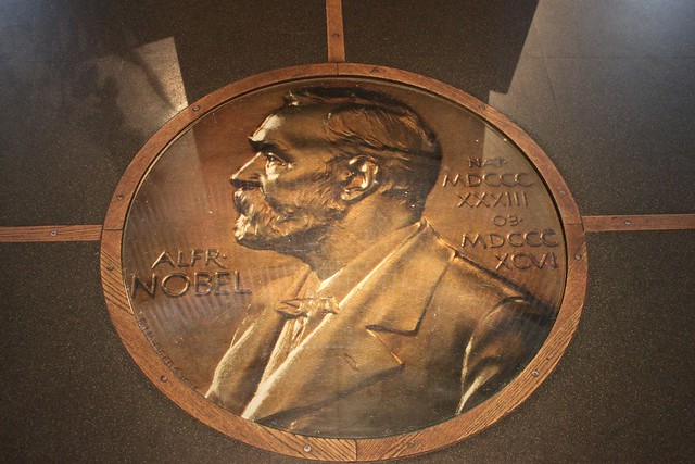 Header of Alfred Nobel