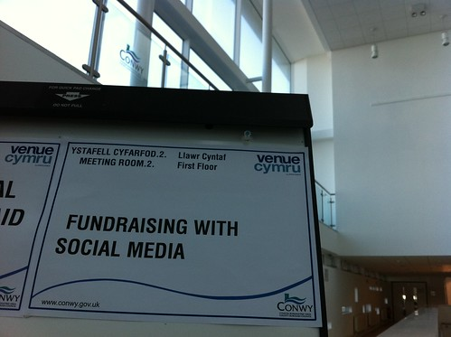 Fundraising with Social Media, Venue Cymru
