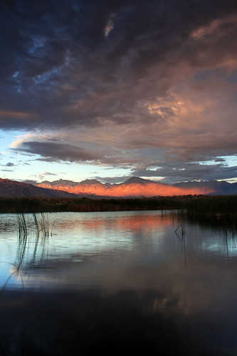 california morning lake mountains reflection nature water clouds sunrise canon landscape pond bishop easternsierra inyocounty buckleyponds