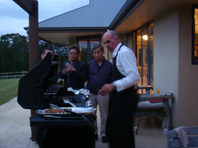 Katikati中學校長晚宴(2009年4月份-金色山莊安排雲林縣教育參訪團赴紐考察)