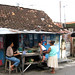 Warung kecil. : A small shop.  Photo by Rifai