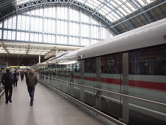 German ICE Train at St Pancras