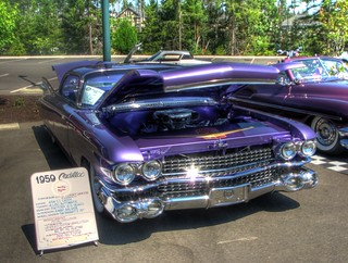 Purple Caddy