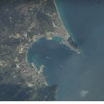 Gibraltar Bay (NASA, International Space Station Science, 10/30/06)