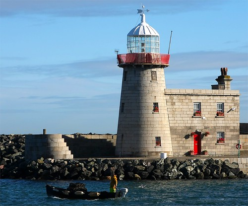 Howth Lighthouse,  County Dublin, Ireland