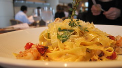 meal, supper, pappardelle, pasta, fettuccine, produce, food, dish, carbonara, cuisine,