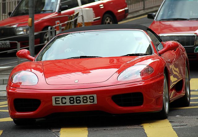 Ferrari | 360 | Modena | Spider | EC 8689 | Lan Kwai ...