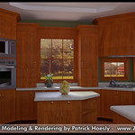 3D Computer Rendering - Kitchen (Photo Real)
