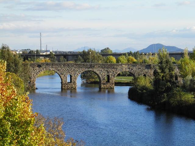 Roman bridge over the Guadiana, Augusta Emerita