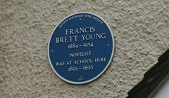 Photo of Francis Brett Young blue plaque