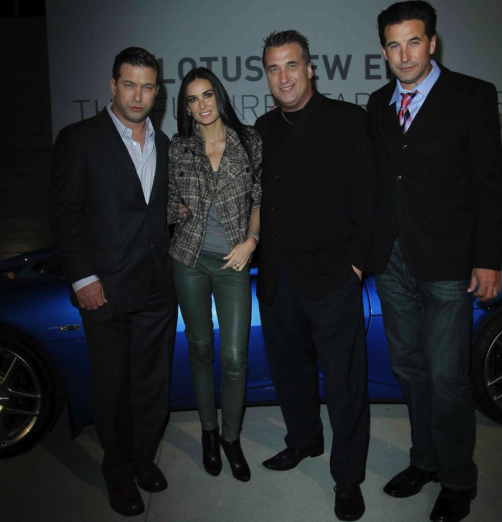 Demi Moore and Baldwin Brothers Celebrate Lotus' Future