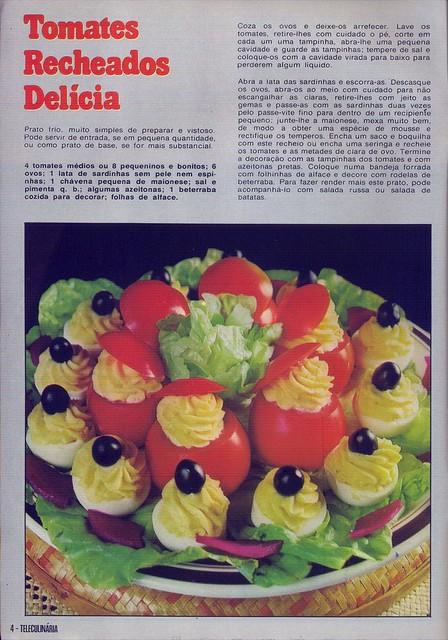 Tele Culinária e Doçaria, Especial Outono, Setembro 1980 - 3