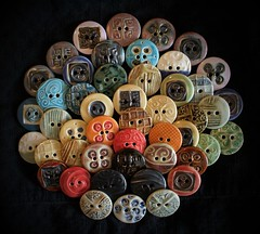 Ceramic Buttons: Choir
