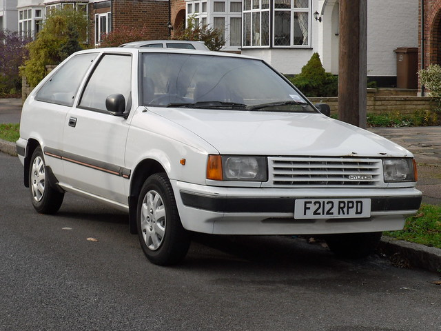 1989 Hyundai Pony 1.3 GL Hatchback.   Flickr - Photo Sharing!