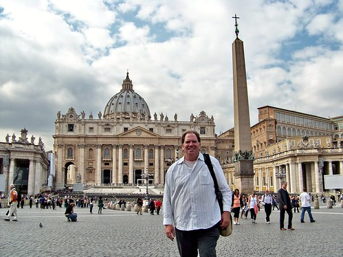 IT10AIU Me at Saint Peter's, Vatican 2010
