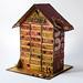 Zapałczany kalendarz adwentowy - Matchbox advent calendar by finnabair
