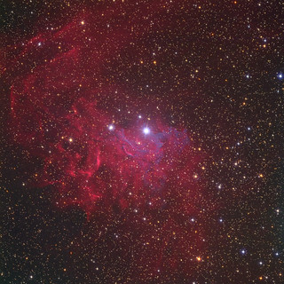 Ic405 By Peter Shah