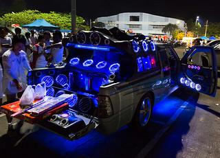 Car Audio at Phuket, Thailand
