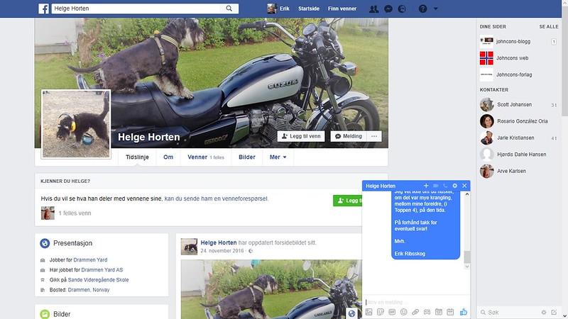 helge horten facebook