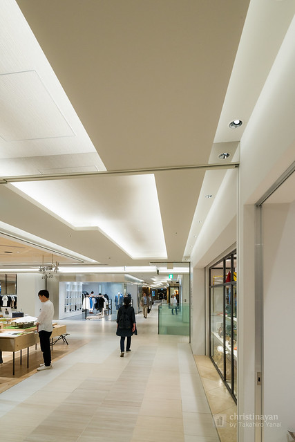 Ceiling of Ginza Six on 3rd (ギンザシックス).