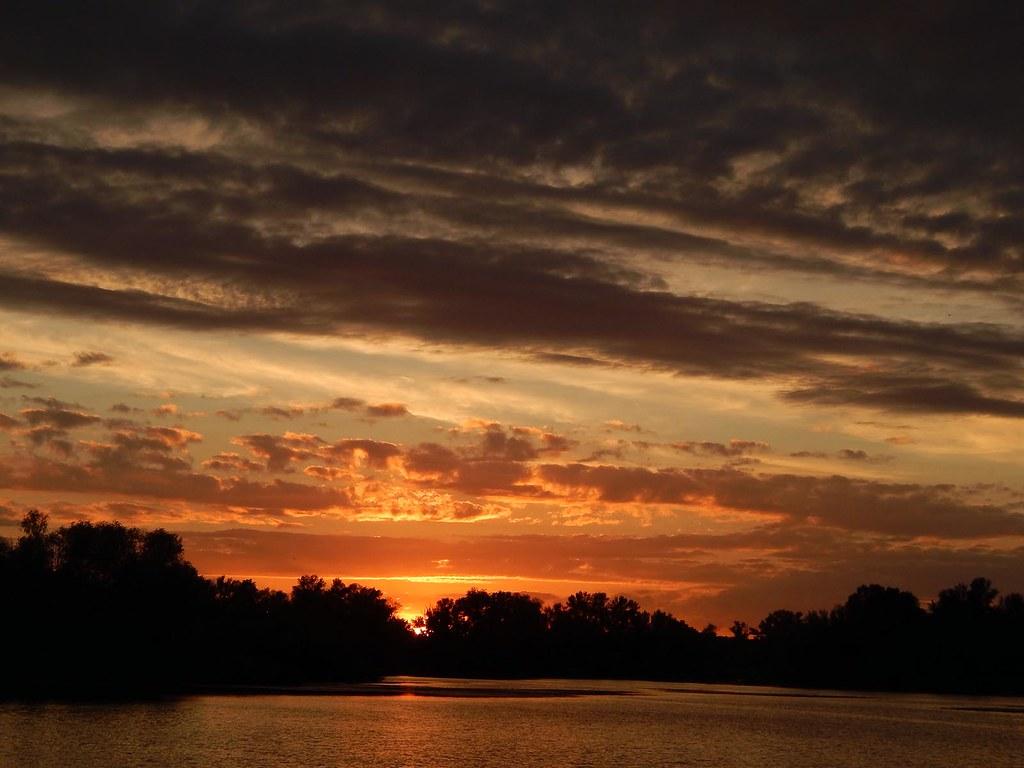 Закат на Юпитере