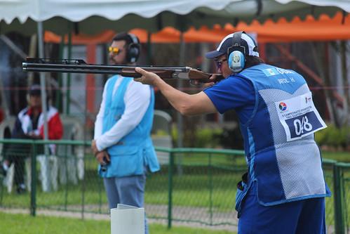 Final doble foso, tiro caza en el Festival Deportivo