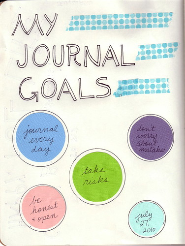 Journal Goals by libookperson