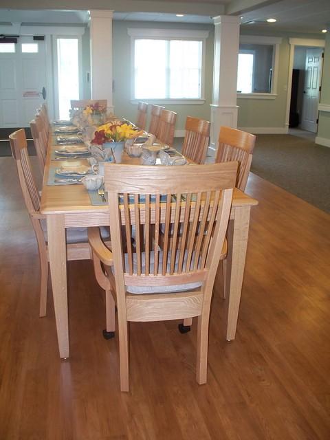 Dining Area At Otterbein Skilled Nursing Rehab