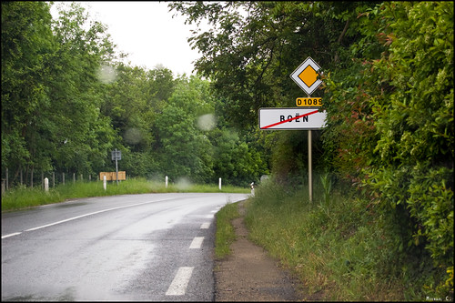 Exit of Boën