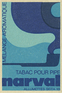 French matchbox label