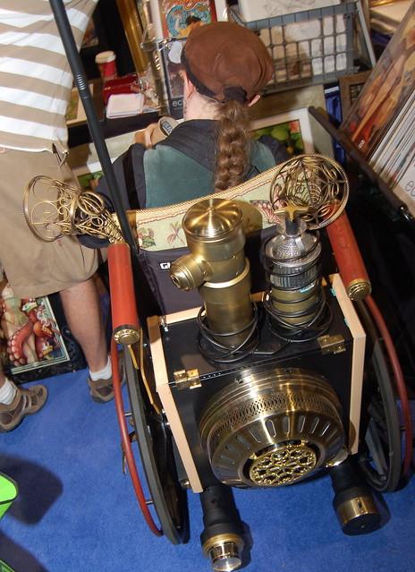 Comic Con 2010: Steampunk Wheelchair