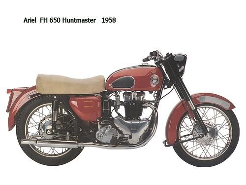 Ariel FH650 Huntmaster 1958