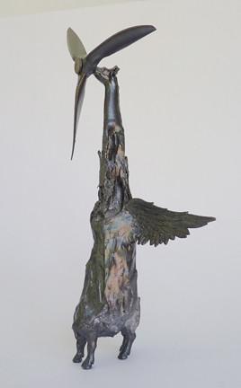 "Misako Inaoka ""Winged Windmill Giraffe"""