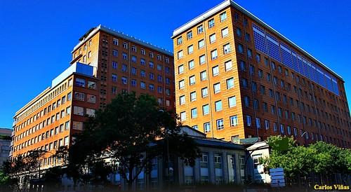 Hospital de la Princesa. Calle Conde de Peñalver. Madrid