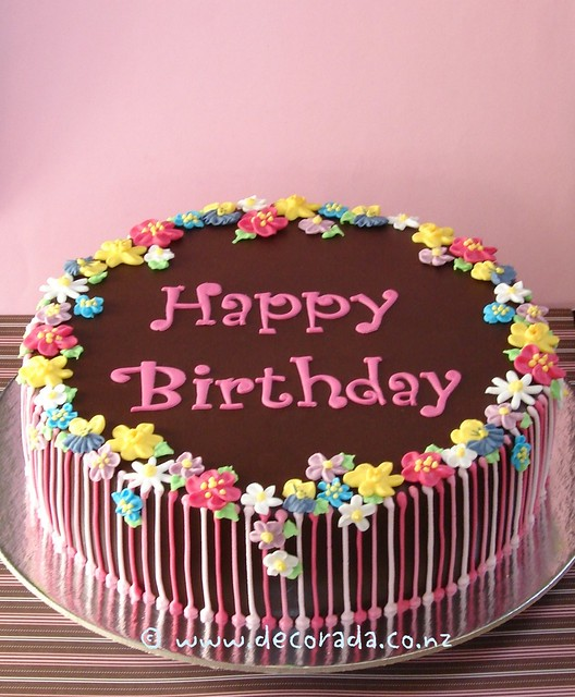 Beautiful Floral Birthday Cakes - Top Images