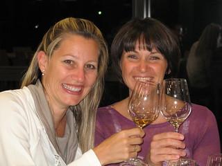 Weinprinzessinnen unter sich … zum Wohl !