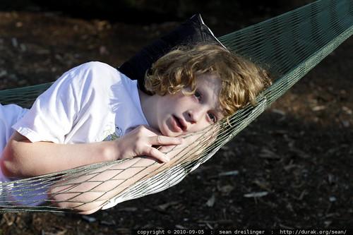 yavin in his hammock
