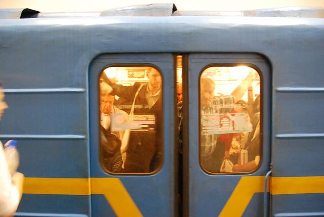 Kijowskie metro, autor:  Dieter Zirnig, źródło:flickr.com