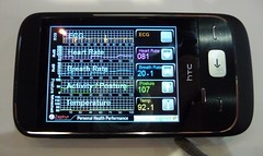 Health monitoring on a mobile phone