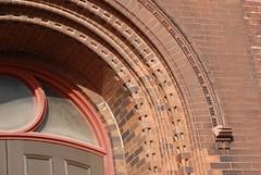 DSD_2915 Detail of Brick Arch over Entrance to Knox Presbyterian Church