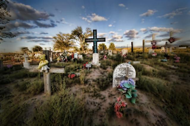 San Juan Pueblo cemetery