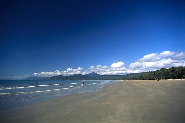 Port Douglas. Olympus OM-1, Fuji Velvia 50, 35mm Slide Film.