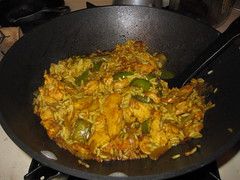 vegetable, dak galbi, biryani, food, dish, cuisine,