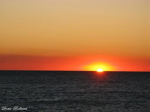 mer france soleil europe lumière collioure leverdesoleil pyrénéesorientale
