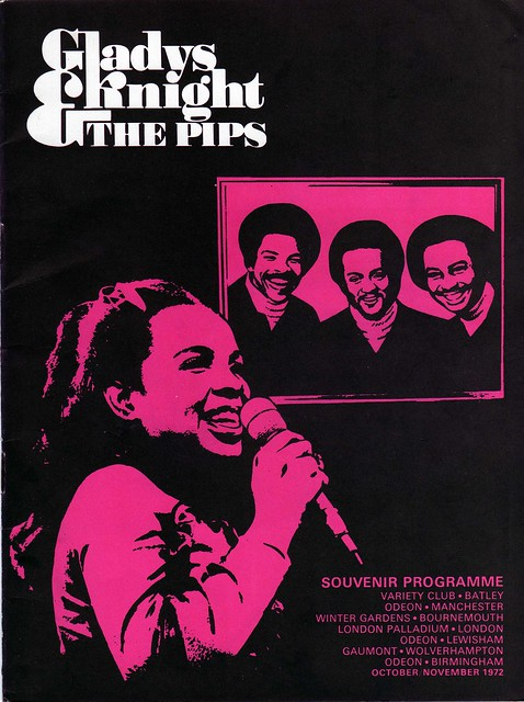 Gladys Knight Programme Cover November 1972