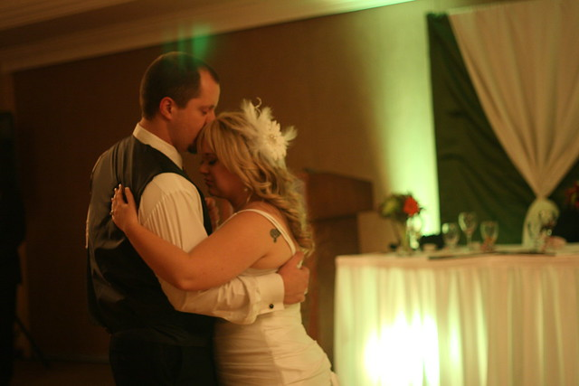 Evan and Jaime's first dance