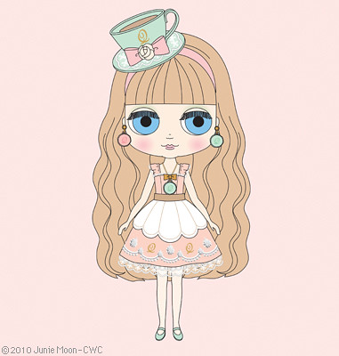 "WC Exclusive Middie Blythe ""Macaron Q-Tea Party"""